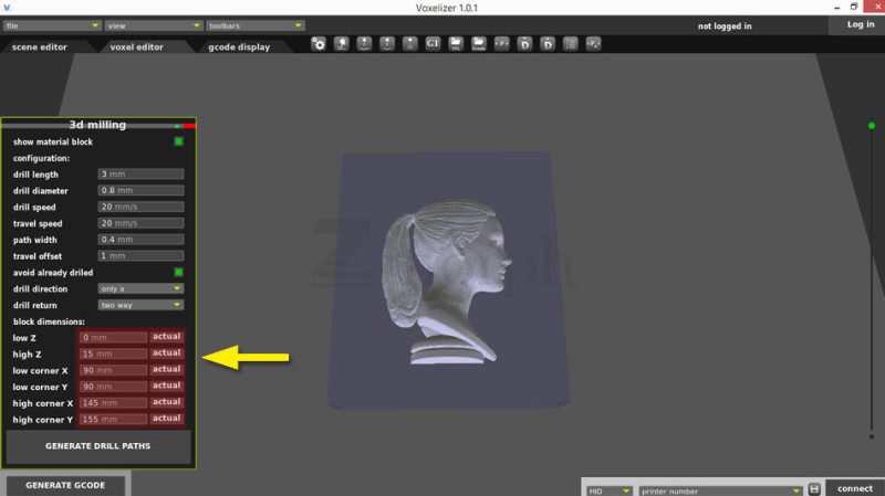 Using the 3D Milling Toolhead - Example Workflow – ZMorph Knowledge Base
